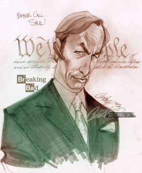 Better Call Saul Breaking Bad by J-Scott-Campbell