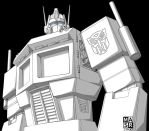 Optimus Prime by rattrap587