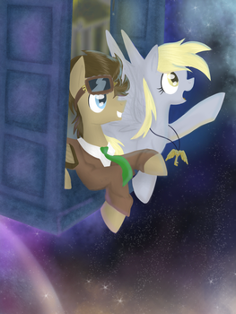 Through Time and Space by TimeyWimeyWhooves