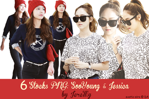 [PNGset2] SNSD's SooYoung n Jessica by exotic-siro