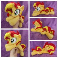 Sunset Shimmer Beanie - Happy by equinepalette