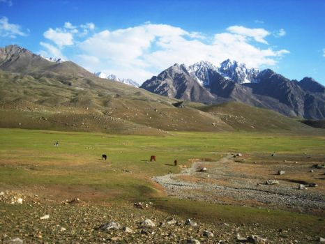 Shandur And Mountains by MehreenFreed