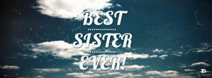 Best Sister Cover by ZeeCreations
