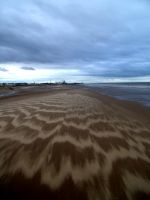 Waves in the Sand by CoasterLass