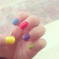 Cute nails by lioness14