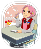 School Life Yaya by ryocutema