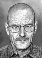 Bryan Cranston by earlierbirdscenic