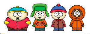 South Park by MeckelFoxStudio