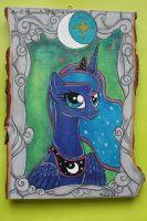 Princess Luna by DiamondwolfART