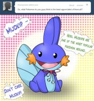 Ask Tumblr Blog - Mudkipz by Sparkle-And-Sunshine