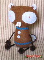 Gingerbread Beaver by plushrooms