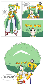 Palutena's New Groove Page 2 by MegatronMan