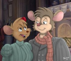 Mr. and Mrs. Mousekewitz by The-B-Meister