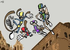 The Toons redesign by DarylT