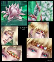 Frog Princesses Details by Neemeister