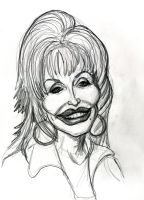 Caricature of Dolly Parton by Caricature80