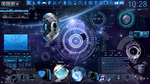 Space Blue Desktop by PhysicsAndMore