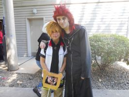 Kumoricon 2012 Roxas and Axel by 2bewd2