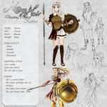 Kerria  - Character Card by Noire-Ighaan