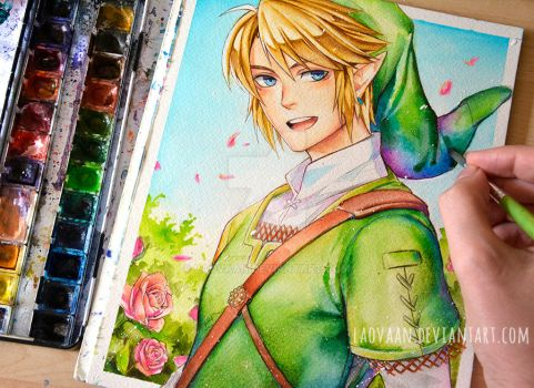 Another Sunny Link by Laovaan