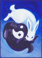 Tao bunnies by nienor