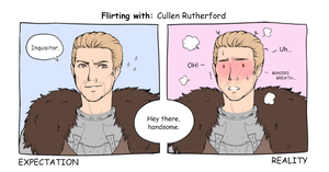 Flirting with: Cullen Rutherford by ChirpyCharlotte