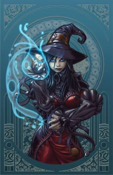 The_Midnight_Witch by Yonami