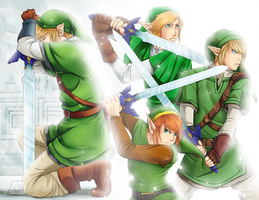 LoZ: The Master Sword by Past-Chaser