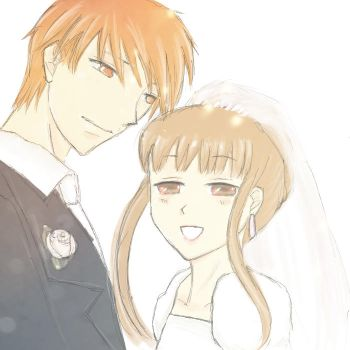Kyo and Tohru by beckyscully