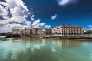 City of two rivers by OlivierAccart