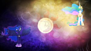 Sisters of the Sun and Moon by GPro587