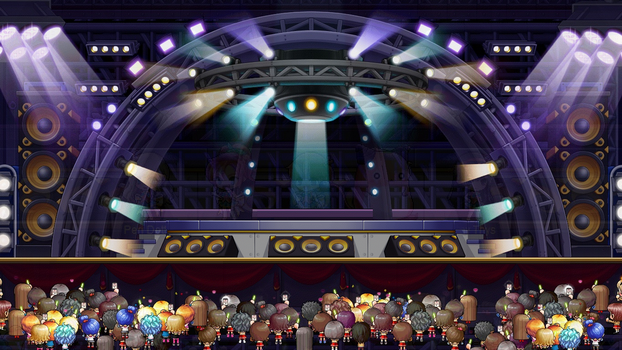 Concert Stage | MapleStory | Background by ryushurei