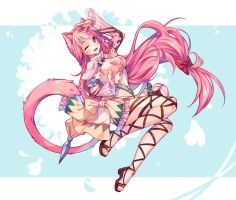 [+Video] Commission - Spring Step by Hyanna-Natsu