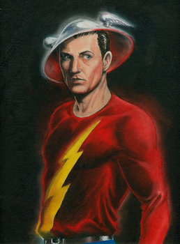 Golden Age Flash - Jay Garrick by Nick-Perks