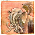 CTHULHUPHANT by zyphryus