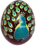 PeacockEgg by MoozieBerry