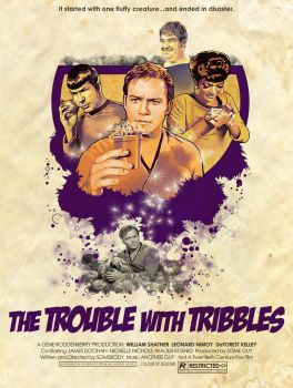 TOSART: Tribble Trouble by moiramurphy