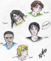 The Maze Runner leads doodles by AquariusMj212