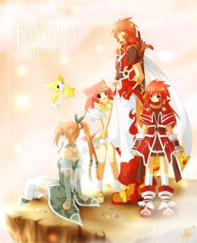 + Fantasy World + by Kaze-Hime