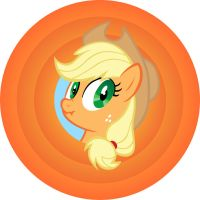 Applejack design by alskylark