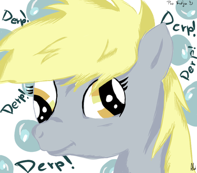 Derpy Hooves - 27.12.2012 by SpitfireWonder
