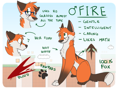 Fire ref by giiuu
