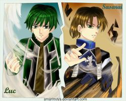 Suikoden: Wind and Earth Twin by Amarinuya