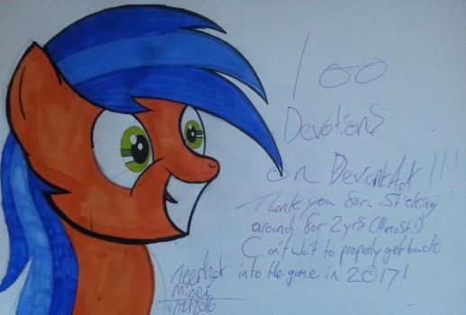 100 Devotions!!!! by MeerkatMiner