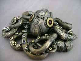 Mechanical Octopus No2 by monsterkookies