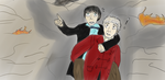 DW - 'Umm...Fancypants...?' by TheWhovianHalfling