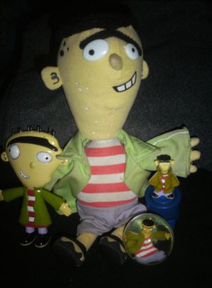 The gallery for --> Ed Edd N Eddy Plush Bobbleheads