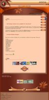 Autumn CSS Template by Lilyas