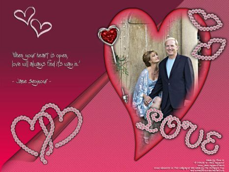 Jane Seymour Valentines Wall by FKemble