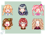 A New Beginning Bachelorette Pixels by MsCappuccino